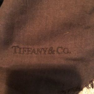 Tiffany silk and cashmere scarf